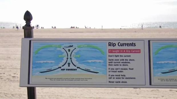 [NECN] Second Person Dies After Getting Stuck in Rip Current in NH