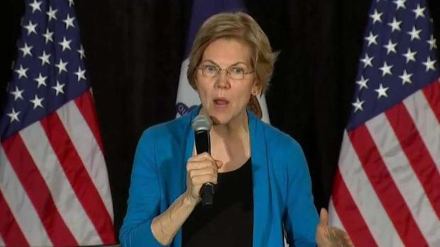 [NECN] Senator Elizabeth Warren Kicks Off Iowa Tour