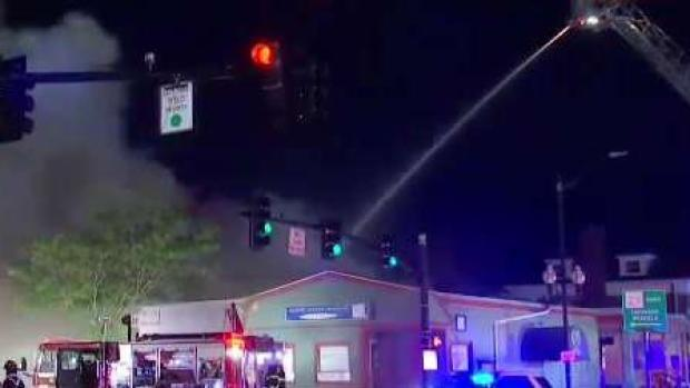 [NECN] Several Departments Respond to 7-Alarm Fire in Natick, Mass.