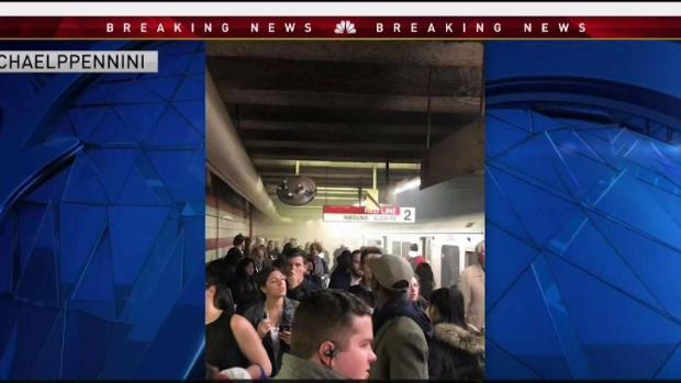 [NECN] Severe Red Line Delays Caused by Motor Failure