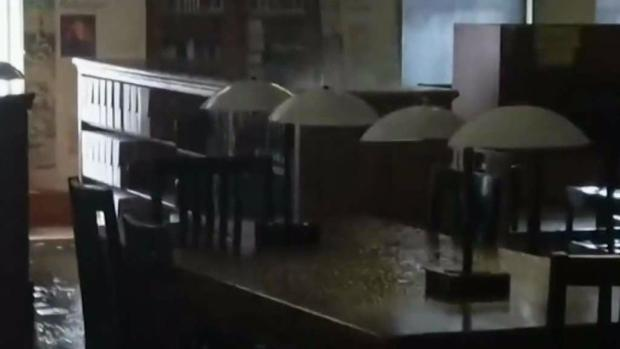 [NECN] Significant Damage After Pipe Bursts in Lowell Library