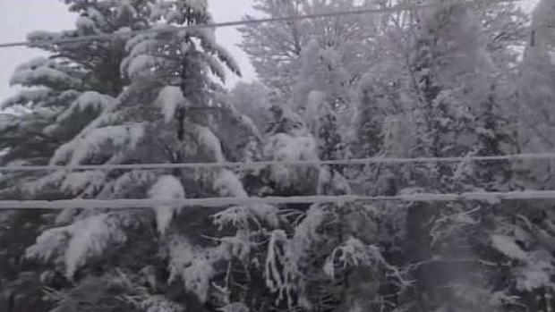 [NECN] Snow Causes Headaches for Vermont Road Crews and Utilities