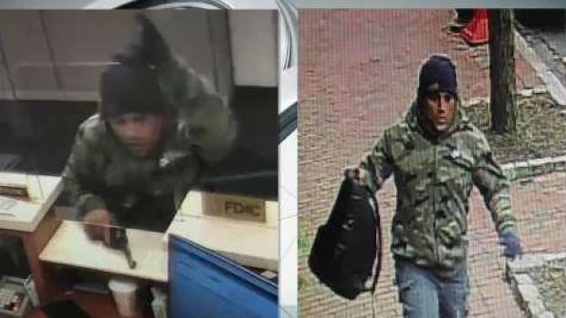 [NECN] Somerville Armed Bank Robbery Suspect on Run