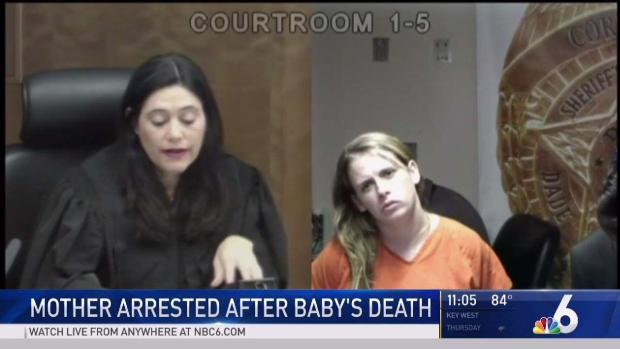 [NATL-MI] South Florida Mother Arrested After Baby's Death