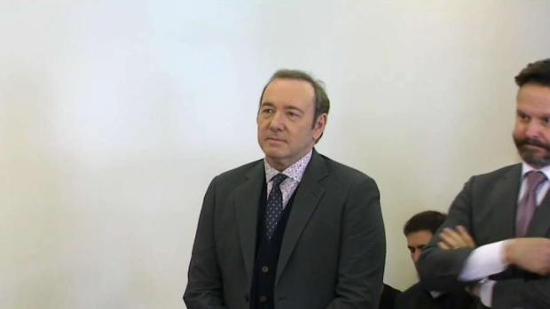[NECN] Spacey Pleads Not Guilty to Assault in Nantucket