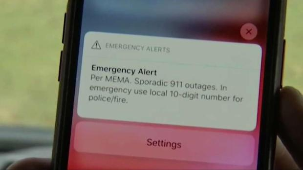 [NECN] Sporadic 911 Outages Continue Throughout State