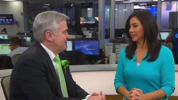 [NECN]Michael Flaherty Weighs in on St. Patrick's Day Parade Changes
