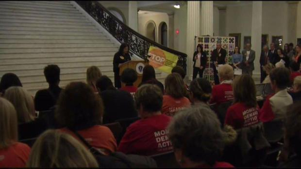 [NECN] Anti-Gun Violence Rally At Mass. State House