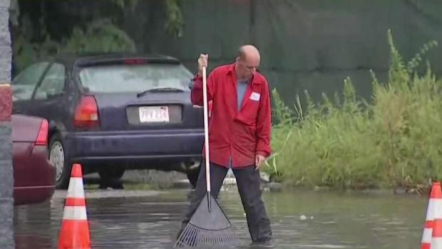 Storms Flood Several Massachusetts Roads