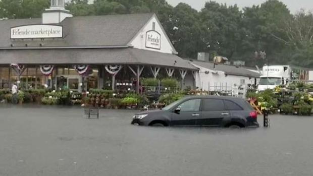 [NECN] Storms Lead to Flooding in Orleans