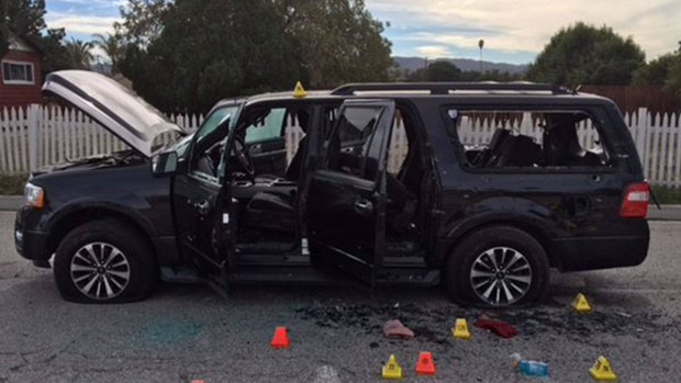 [NATL] San Bernardino Massacre: Photos From the Crime Scene