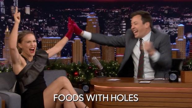[NATL] 'Tonight': Jinx Challenge With Natalie Portman