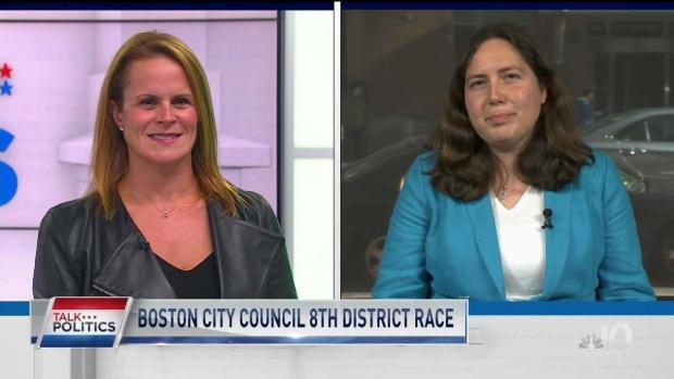 [NECN] Talk Politics: Previewing the Boston City Council 8th