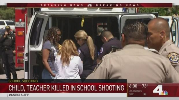 [NATL-LA] Teacher's Estranged Husband Opens Fire in Elementary School Classroom
