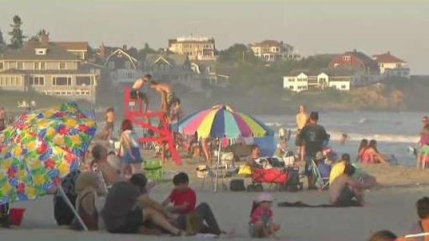 [NECN] Teen Injured by Beach Umbrella in Gloucester