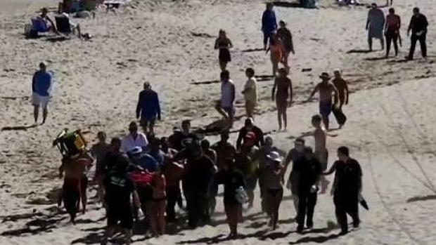 [NECN] Teen Who Was With Man Killed by Shark Speaks Out