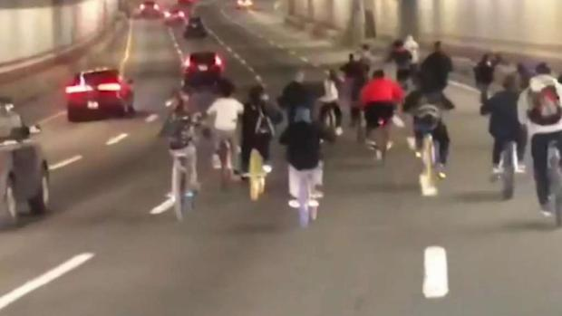 [NECN] Teens Caught on Video Riding Bikes Through Boston Tunnel