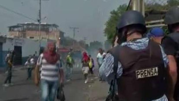 Tensions Flare Along Venezuelan Border