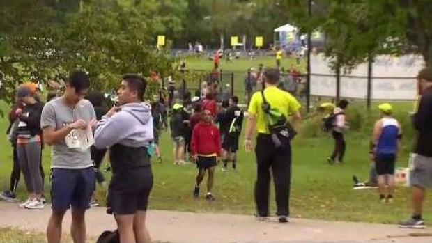 [NECN] Thousands of Participants Run in B.A.A. Half Marathon