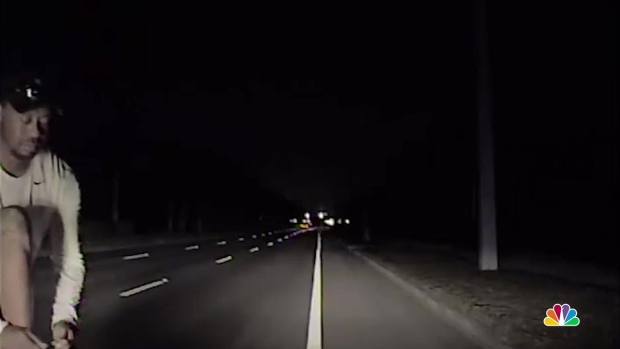 [NATL] Watch: Tiger Woods Arrest Dashcam Video