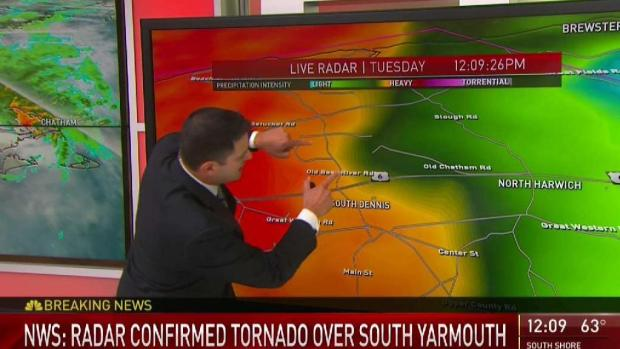 [NECN] Tornado Touchdown Confirmed in Barnstable County