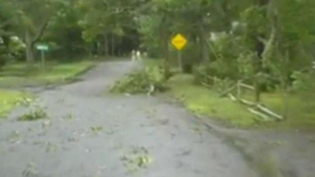 [NECN] Tornado Touches Down on Cape, Causes Severe Damage