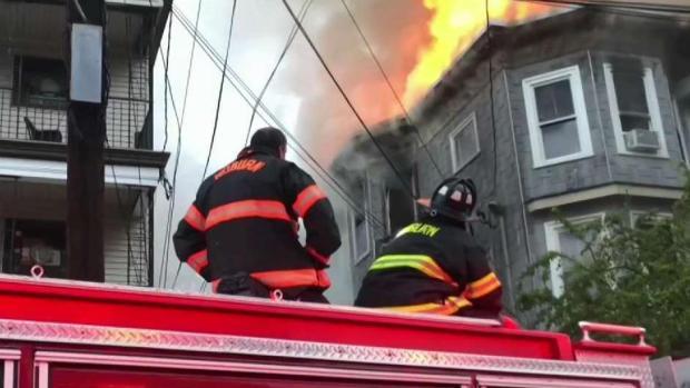 [NECN] Triple-Decker Fire in Woburn Investigated as Suspicious