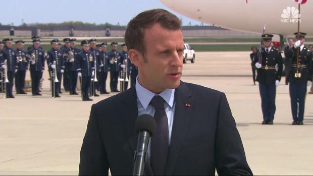 [NATL] Macron Visit Puts Spotlight on Iran Nuclear Deal