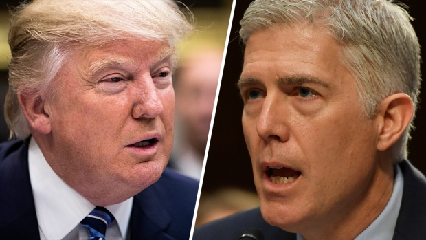 [NATL] Trump Criticizes Judges Numerous Times, Gorsuch Responds