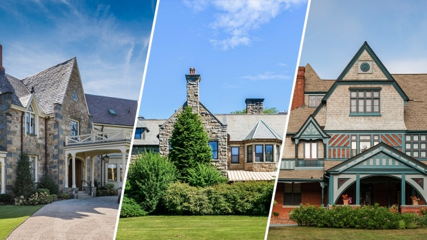 FOR SALE: 3 Historic Newport Mansions Hit Real Estate Market