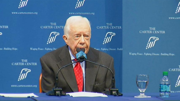 Former President Carter Talks Cancer Diagnosis