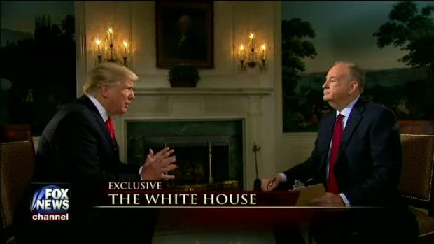 President Trump's Super Bowl Sunday Interview With Bill O'Reilly