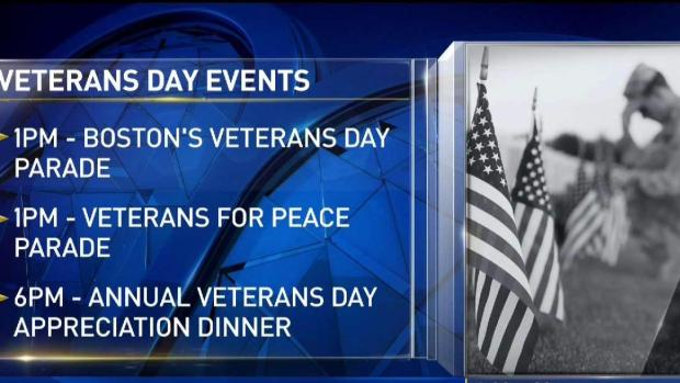 [NECN] Veterans Day Events in Boston