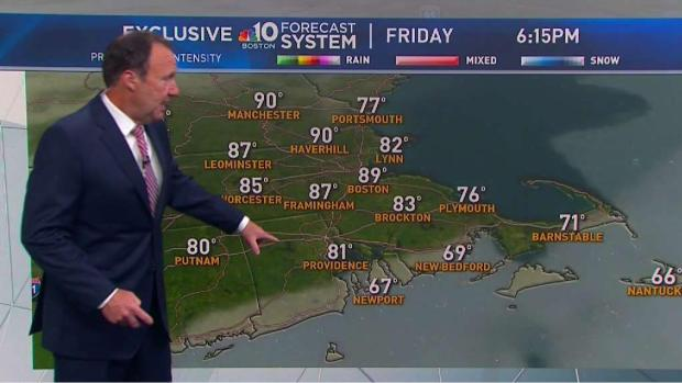 [NECN] Temperatures Hovering Around 80 for the 4th