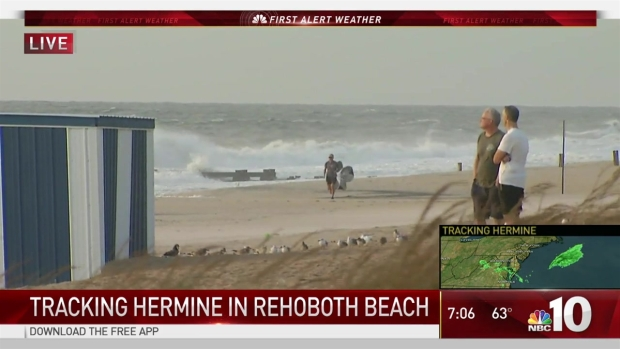 [NATL-PHI] Delaware Beaches Brace for Brunt of Hermine