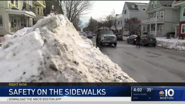 [NECN] Plenty of Snow to Clean Following Storm