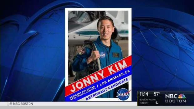[NECN] MGH Resident Selected for Astronaut Training
