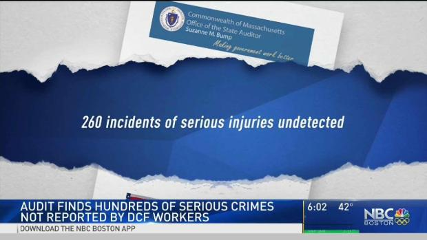 [NECN] Audit Finds Hundreds of Serious Cases Not Reported by DCF
