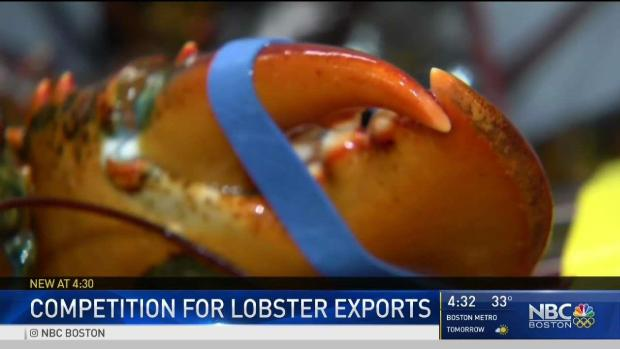 [NECN] Maine Lobster Shippers Concerned