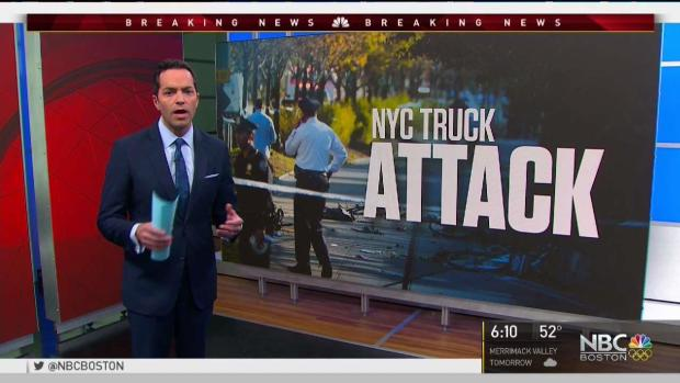 NBC Boston in NYC: Truck Attack Investigation Continues