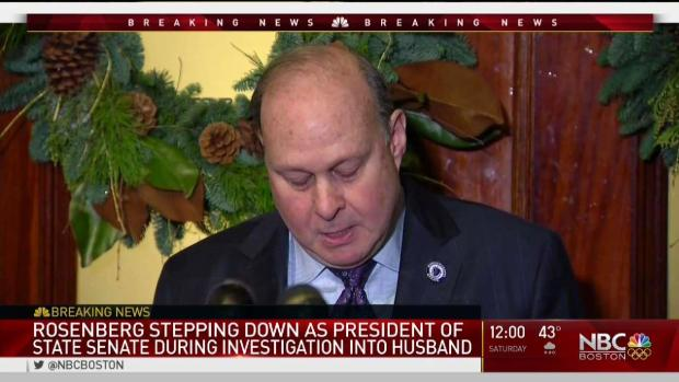 [NECN] Mass. Senate President to Step Down During Investigation Into Husband