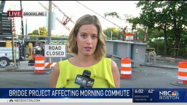 [NECN] Significant Delays Expected on Mass. Pike for Bridge Work