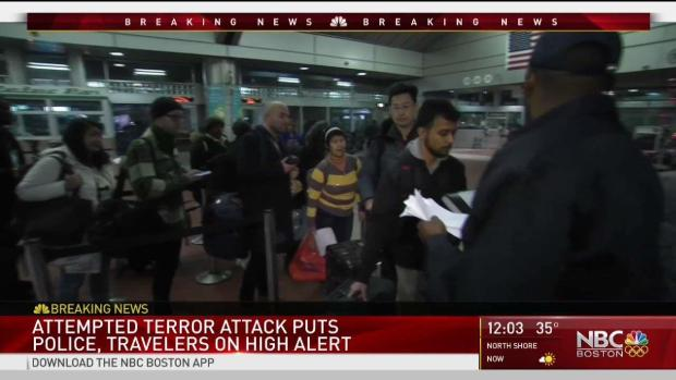[NECN] Attempted NYC Attack Puts Police, Travelers on High Alert