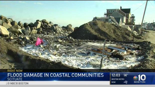 [NECN] Heavy Flood Damage in Coastal Communities