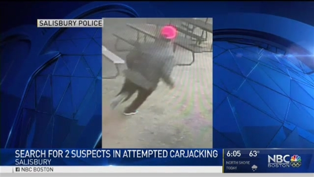 [NECN] 2 Suspects Sought in Attempted Armed Carjacking