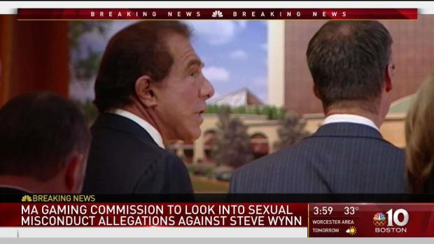 [NECN] Allegations of Sexual Misconduct Emerge Against Steve Wynn
