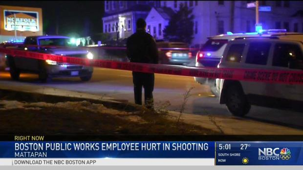 [NECN] Boston DPW Worker Injured in Shooting Recovering