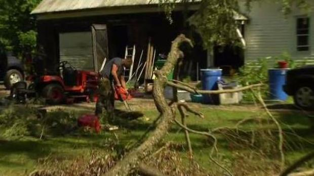 [NECN] Major Storm Causes Damage in Maine