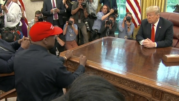 Part 2: Kanye West Talks With President Trump in Oval Office