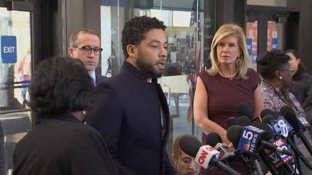 [NATL-CHI] WATCH: Jussie Smollett Speaks After Charges Dropped